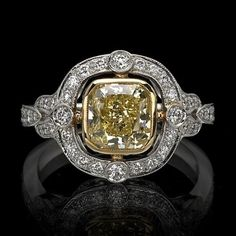 Meet The Winchester, part of our unique Heritage Collection. Contact one of our diamond experts today!   #heritagecollection, #diamondring, #weddingband http://www.junikerjewelry.com/the-winchester