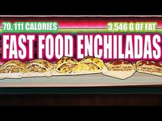 Fast Food Enchiladas - Epic Meal Time - http://www.bestrecipetube.com/fast-food-enchiladas-epic-meal-time/
