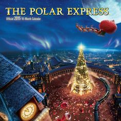 I love the artwork in this 2015 wall calendar. You could celebrate The Polar Express all year long. Polar Express Crafts, Polar Express Book, Polar Express Theme, Polar Express Train, Christmas Open House, Christmas Mood, Country Christmas, Kids Christmas, Christmas Story Books