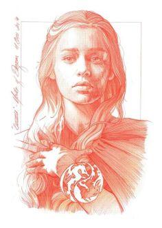 Daenerys - Mark Raats