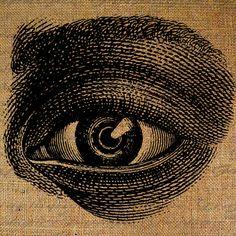 Giant Eye Anatomical Eyes 2 Eyeball Digital Image by Graphique, $1.00