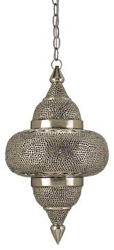 Currey and Company Tangiers Pendant - mediterranean - pendant lighting - Candelabra