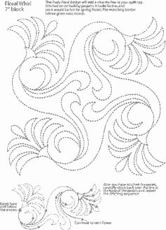 Floral Whirl - Free Pattern #1 -  from Hari Walner (<3 her!)