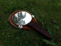 Romano-British iron age bronze mirror.