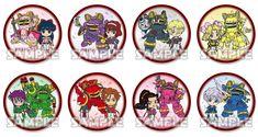 """Sakura Taisen"" Capsule Can Badge (8 types in total) from Bushiroad Creative! | INFORMATION | Sakura Wars.com"