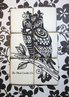B&W Owl | Cookie Connection