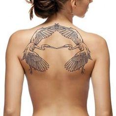 Tattoo project by Dwam Back Tattoos, Future Tattoos, Body Art Tattoos, Tatoos, Tattoo Drawings, Tattoo Studio, Heron Tattoo, Crane Tattoo, Tattoo Project