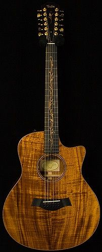 really nice Taylor Koa 12-String they play so melodically it sucks you in