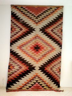 SALE 15 OFF Vintage eye dazzler Navajo rug by Stratfieldworkshop, $637.50