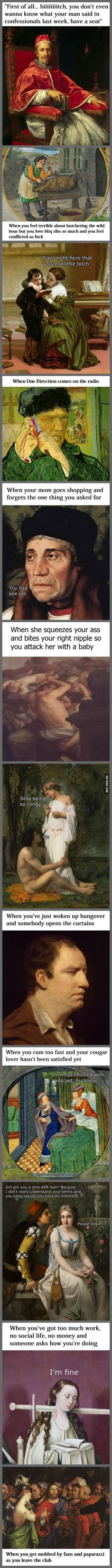 Classical Art Memes Latest (Part-15)