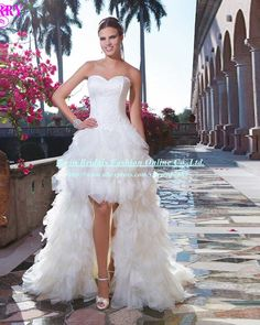 Vestido-De-Noiva-Curto-Sexis-High-Low-font-b-Wedding-b-font-font-b-Dresses-b.jpg (800×1000)