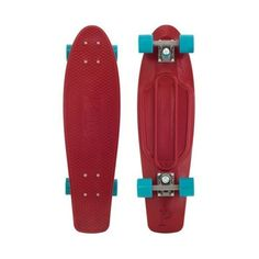 Penny Skateboard Organic Nickel SKATEBOARD COMPLETE Maroon |... ❤ liked on Polyvore featuring skateboards, boards, misc and skate