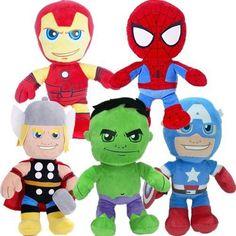 Bargains-Galore 10 Marvel Plush Soft Cuddly Toy Gift Superhero Cozy Toys Xmas 30Cm Chunky Kids (Thor)