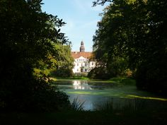 Schloss Lindenau bei Ortrand in Brandenburg.
