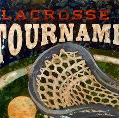 Sports Lacrosse Art Lacrosse Tournament by EmbellishmentsStudio, $69.00