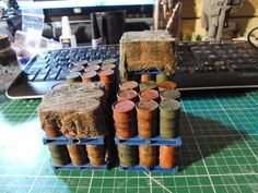 Pallets from Camp Talvenus. This topic from the Ammo Bunker is a must see for all IG players. It covers a MULTIPLE of excellent scenery tutorials.