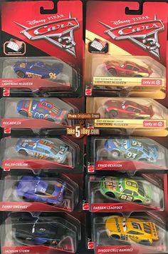 Mattel Disney Pixar CARS 3: Target Singles Case Spotting – the Q Case Disney Cars Characters, Disney Cars Toys, Cruz Ramirez, Paw Patrol Coloring Pages, Baby Shower Niño, Lightning Mcqueen, Dandelions, Venom, Cars And Motorcycles