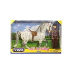 Reeves Breyer Let's Go Riding Traditional English Horse Riding Play Set