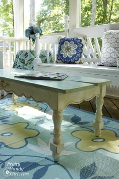 bamboo rug painted - swoon....