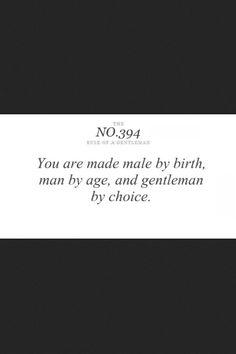Men's rule
