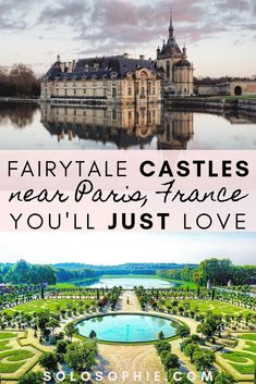 Magical French châteaux and fairytale castles near Paris in the Ile de France region worth visiting. Here's your guide to the best of magical escapes from Paris, France! Paris Travel Tips, Travel Goals, Travel Hacks, Provence, Day Trip From Paris, Fairytale Castle, Triomphe, Mont Saint Michel, European Travel