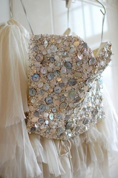 Sequined Bodice | Tulle Skirt
