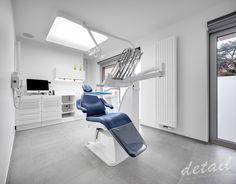 Praktijkruimte - tandarts - kabinet - dental - blauw #dental #tandartspraktijk © Bart Gosselin