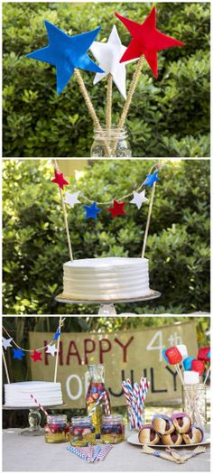 Check out some simple Fourth of July party ideas!