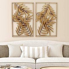 Find SPAZIO Palm Metal Wall D? Shop the latest collection of SPAZIO Palm Metal Wall D?cor, Antique Gold from the popular stores - all in one Wall Decor Online, Wall Decor Set, Metal Wall Decor, Diy Wall Art, Metal Wall Art, Wall Décor, Gold Wall Decor, Starburst Wall Decor, Medallion Wall Decor