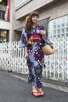 Traditional Japanese Clothing - Tokyo Street Style / Kimono revisted