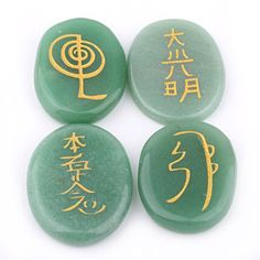 Cheap pouch underwear, Buy Quality pouch carrier directly from China stone mortar and pestle Suppliers: Green Aventurine Engraved Stone Chakra Palm Crystal Reiki Healing Free Pouch