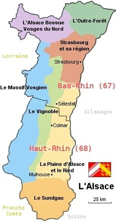 maps of Alsace