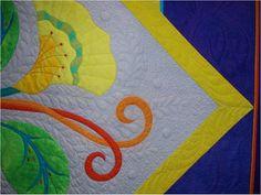 Edredón Inspiración: Festival del Pacífico International Quilt - Santa Clara, California