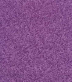 Hoffman Anisa Etched Paisley Purple