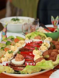 Húsvéti terülj, terülj asztalkám Cobb Salad, Food, Essen, Meals, Yemek, Eten
