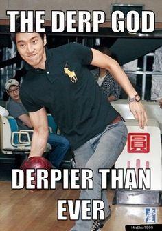hahahaha, Siwon you're killing me xD Even deeps when bowling XD