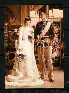 Prince Christian of Denmark and Alexandrine Mecklenburg - Schwerin