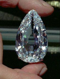 The Ahmadabad diamond, 78,86 carats, worth about 5 million dollars.