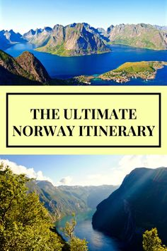 Have you ever thought of driving through Norway? Such an incredible place!