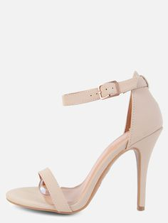 6da263e8d36 Online shopping for Single Sole Open Toe Heels NUDE from a great selection  of women s fashion