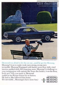 The 1965 Ford Mustang will transform you!