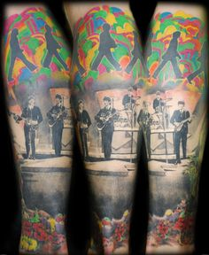 16- beatles tattoo
