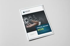 Annual Report Brochure 2016 on Behance