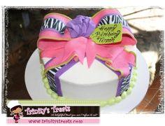 Teen Birthday Cake By TheOriginalCakeDiva on CakeCentral.com