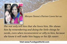 Check my results of Why your Partner Loves You? Facebook Fun App by clicking Visit Site button Strong Love, Best Apps, Love Him, Places To Visit, Facebook, Button, Happy, Check, Fun