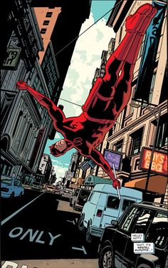 "marvel-dc-art: ""Daredevil pencil & ink by Chris Samnee color by Matthew Wilson"""