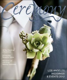 What a great #wedding #magazine front.  Love this #button #hole.  http://www.hoffyblog.com/wp-content/uploads/2012/02/Screen-Shot-2012-02-13-at-9.41.33-PM.jpg