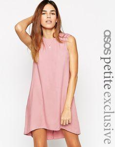 Эксклюзивное свободное платье ASOS PETITE