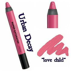 URBAN DECAY SUPER SATURATED LIPCOLOR URBAN DECAY SUPER SATURATED LIP COLOR Rich and creamy lipstick in big bang  love child naked flushed with insane amounts of high-gloss shine?all captured in one chubby pencil. This addictive pencil delivers all the opaque, saturated, high-impact color of your favorite lipstick and an arresting high-gloss finish in one chubby pencil. BRAND NEW IN BOX NEVER USED NEVER SWATCHED PRICE FIRM Urban Decay Makeup Lipstick