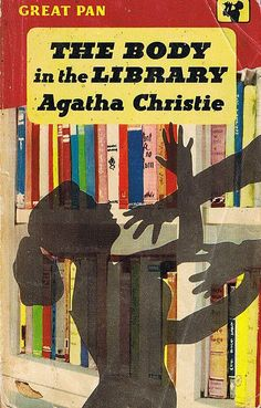 The Body in the Library by Agatha Christie. Pan Books, 1959. via Bonito Club - this will be my body - likely where they'll find me when I die.